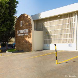 Fachada externa - Clínica Dermatre em Goiânia