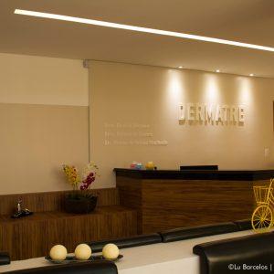 Recepção - Clínica Dermatre em Goiânia